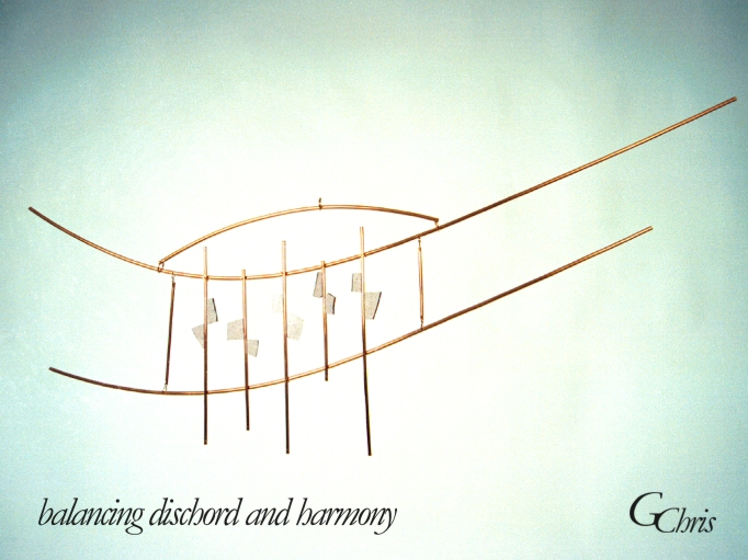 balancing dischord and harmony