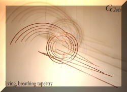 living, breathing tapestry